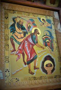 """Икона праздника, """"Усекновение главы Иоанна Предтечи"""""""